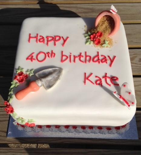 gardening cake 1