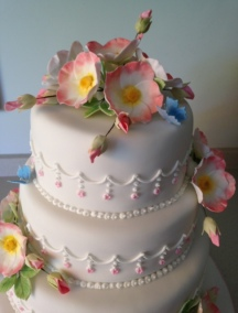 ben cake detail