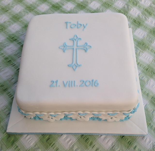toby christening cake