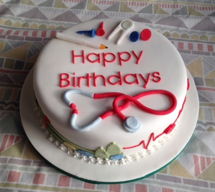 Brilliant Joint Birthday For A Doctor And A Golfer Cakes On Sea Funny Birthday Cards Online Chimdamsfinfo